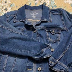 Sonoma Cropped Jean Jacket in EUC